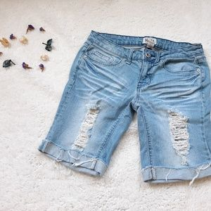 [Mudd] Denim Bermuda Shorts